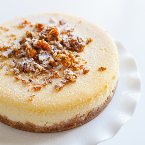 Classic baked cheesecake