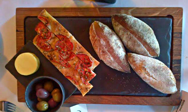 The bread board at Terroir