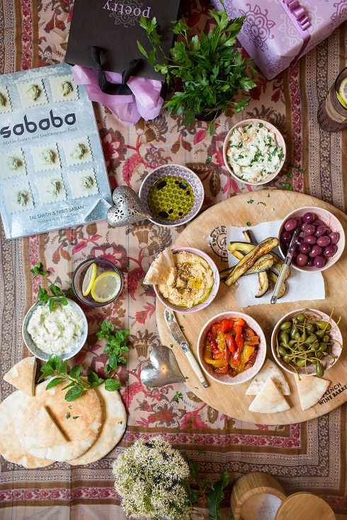 My mezze platter for Mother's Day (photography by Tasha Seccombe)