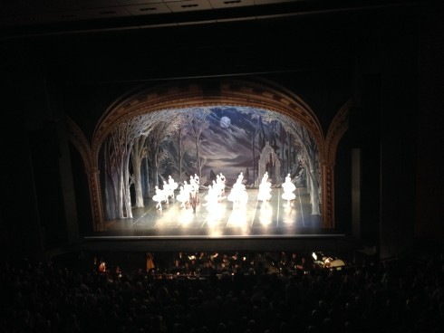 The St Petersburg Swan Lake performance at Artscape Theatre. #EveningOfExcellence