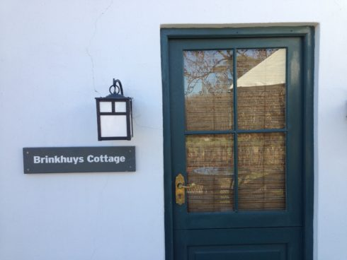 Brinkhuys Cottage, one of the Werf Cottages at Boschendal.