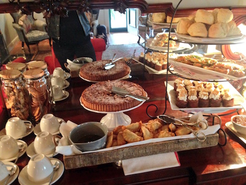 A selection of afternoon tea delights.