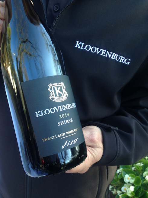 Kloovenburg Shiraz - one of my new favourite wines.