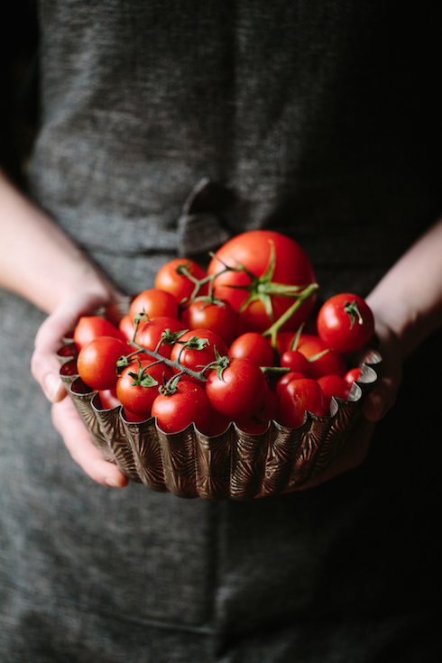 Ripe tomatoes are essential for the intense flavour of this dish (photography by Tasha Seccombe)