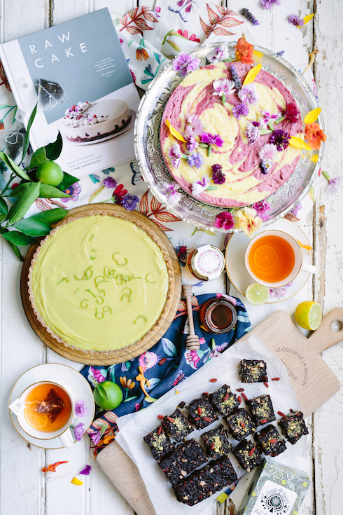 A raw cake spread for mothers day with poetry stores the food fox a raw cake spread for mothers day featuring recipes from the book raw cake photography by tasha seccombe all homeware linen teas and honey available forumfinder Choice Image