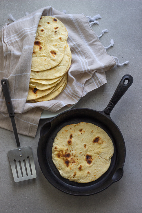 How to make soft flour tortillas | The Food Fox
